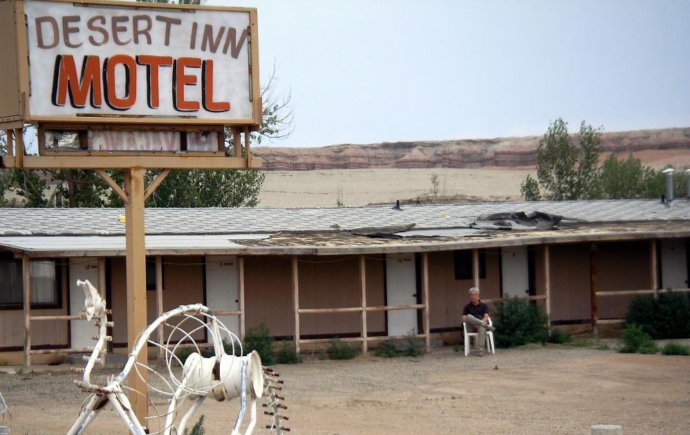 In jedem Motel gibt's WLAN - nur in diesem nicht...